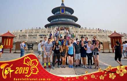 Tour Bắc Kinh – Thượng Hải – Vạn Lý Trường Thành tết 2019 giá tốt từ Sài Gòn