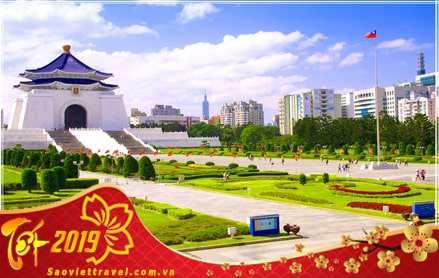 Du lịch Đài Loan – Đài Bắc – Đài Trung – Cao Hùng Tết 2019 giá tốt từ Hà Nội