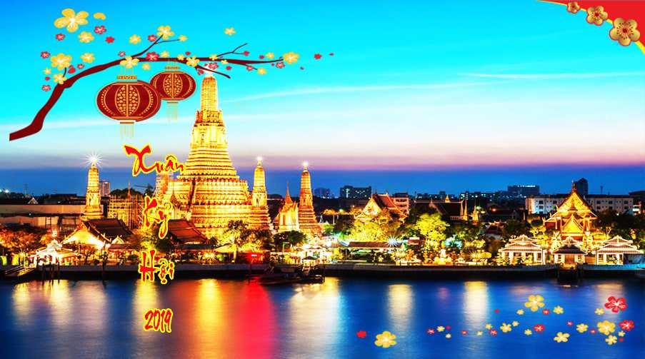 Du lịch Thái Lan Tết 2019 khởi hành từ Hà Nội giá tốt nhất