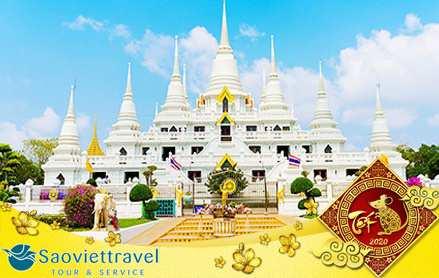 Du lịch Thái Lan Tết Nguyên Đán 2020 khởi hành từ Hà Nội giá tốt