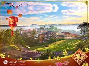 Du lịch Tết Nguyên Đán Tân Sửu 2021- Đà Lạt 3 ngày 3 đêm khởi hành từ Sài Gòn