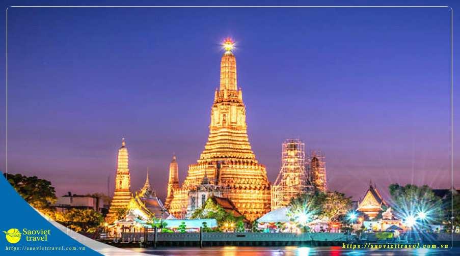 Du lịch Thái Lan Mùa Thu 5 ngày Bangkok – Pattaya từ TPHCM giá tốt