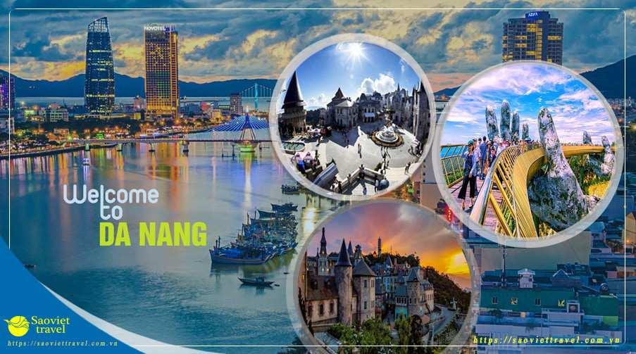 Du lịch hè Miền Trung 2021- Thiên Đường Miền Trung 3 ngày giá siêu tiết kiệm