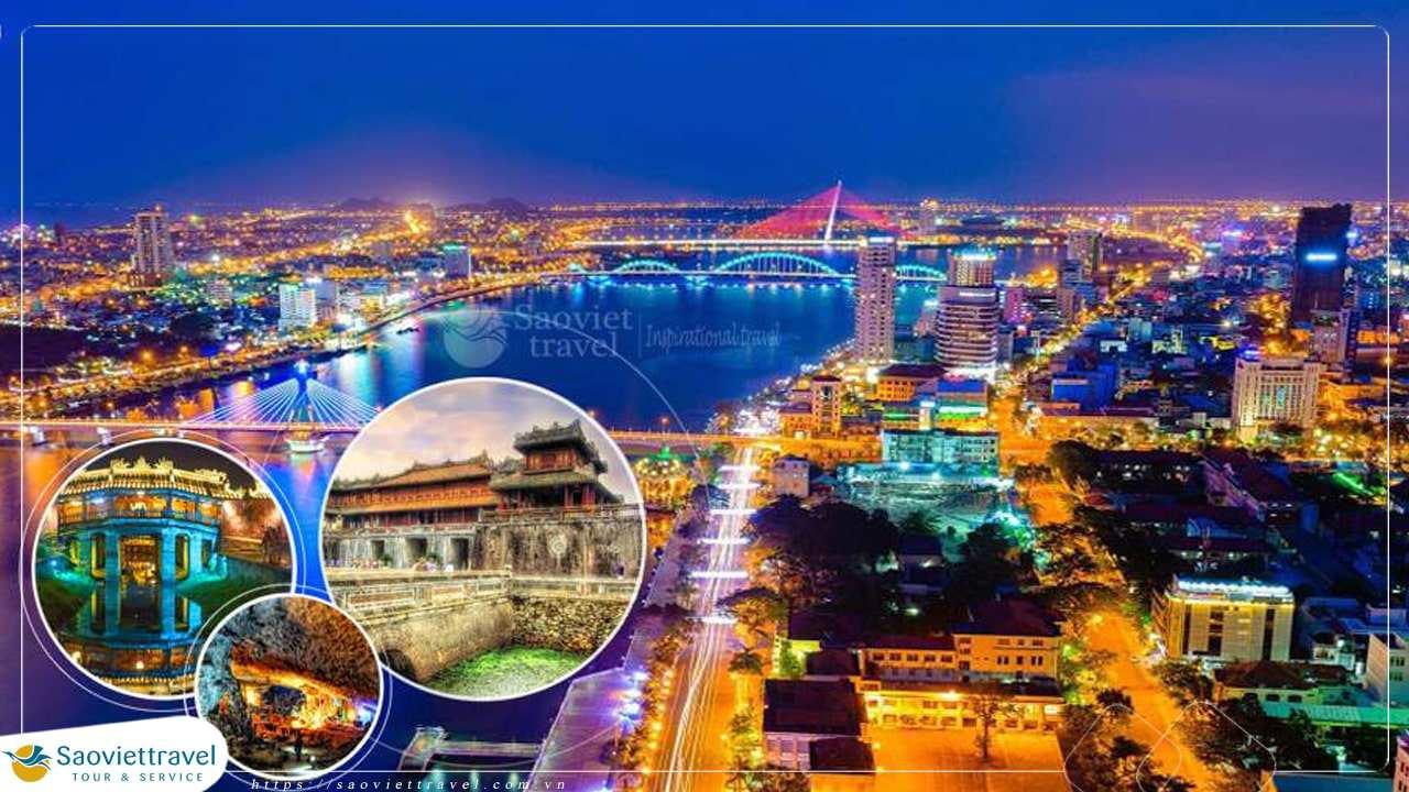 Du lịch Thiên Đường Miền Trung 3 ngày giá tốt hè 2021 từ Sài Gòn