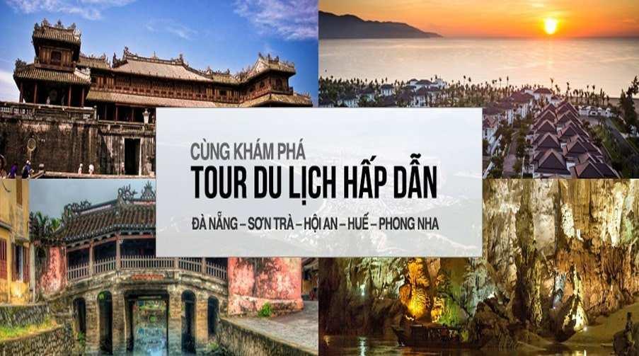 Tour Đà Nẵng hè 2020 – Bà Nà – Hội An – Huế – Động Phong Nha giá tốt từ Hà Nội