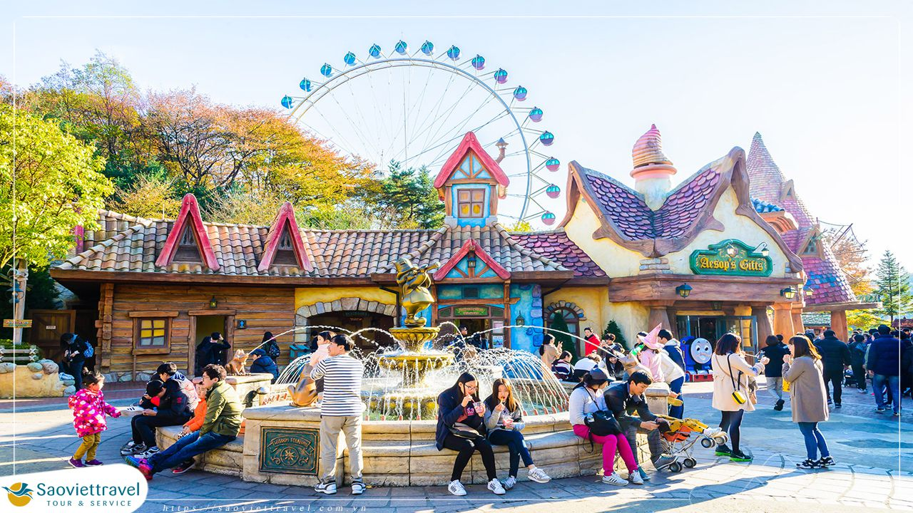 Du lịch Hàn Quốc – Khám Phá Xứ Sở Kim Chi 5 ngày 4 đêm giá ưu đãi 2020
