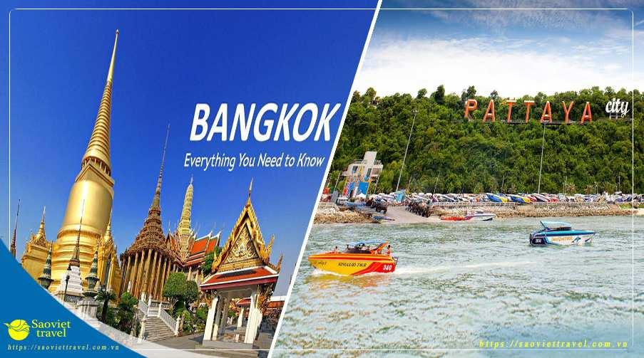 Du lịch Thái Lan Bangkok – Pattaya – Buffet 86 Tầng từ Sài Gòn giá tốt 2020 – Tour Cao Cấp