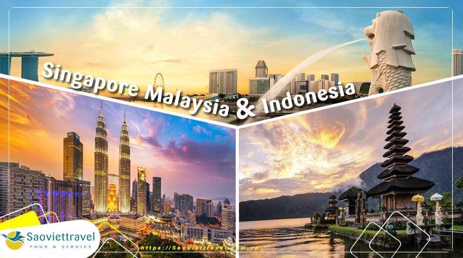 Tour Singapore Indonesia Malaysia 6 ngày giá ưu đãi hè 2019 từ Sài Gòn – TOUR CAO CẤP