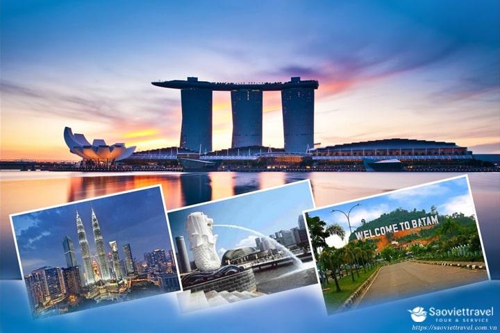Du lịch Sing-Malay-Indo 6 ngày giá tốt mùa thu 2019 từ Tp.HCM – Tour đặc sắc