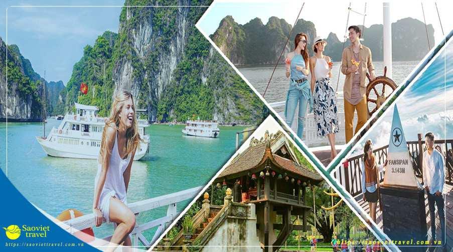 Du lịch Miền Bắc – Hà Nội – Hạ Long – Sapa từ Sài Gòn giá tốt
