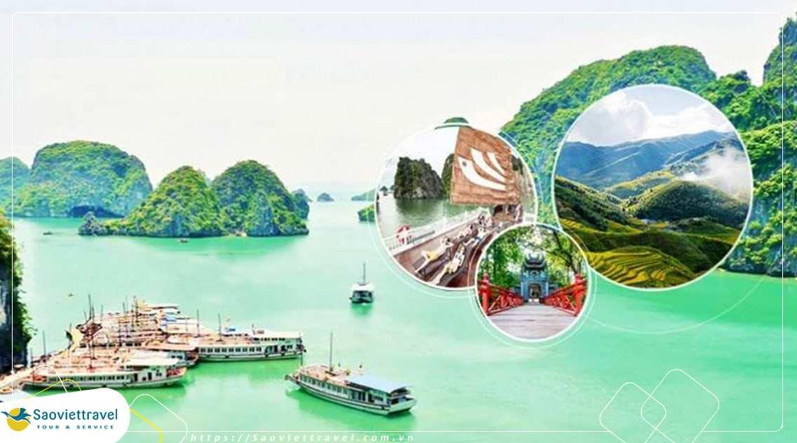 Du lịch Tết Dương lịch 2021 – Hà Nội – Vịnh Hạ Long – Sapa – 4 ngày 3 đêm từ Sài Gòn giá tốt