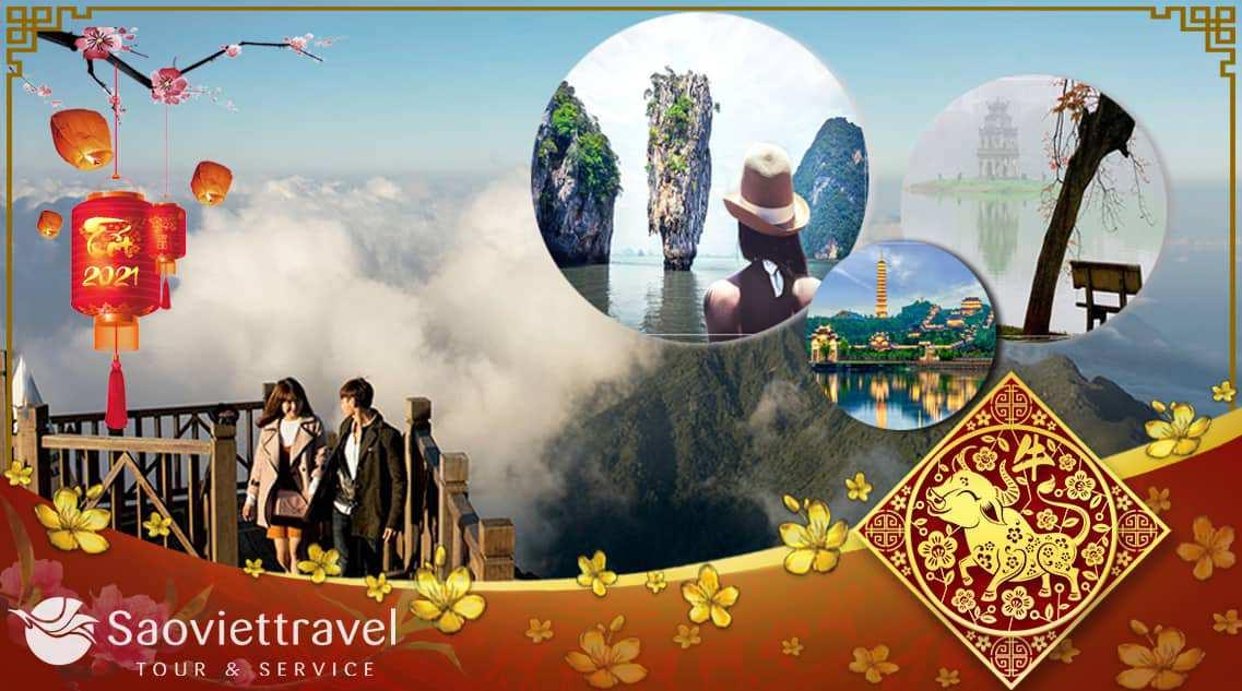 Du lịch Miền Bắc – Hạ Long – Sapa – Fansipan 4 ngày Tết Âm lịch 2021 từ TP.HCM