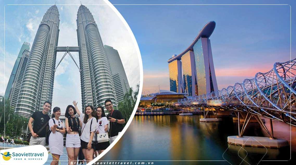 Du lịch Singapore Malaysia 4 ngày 3 đêm từ Hồ Chí Minh