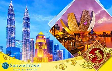 Du lịch Tết âm lịch 2020 Singapore – Malaysia từ Sài Gòn giá tốt