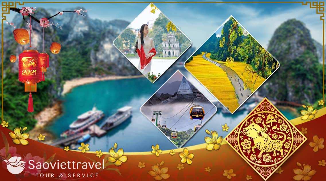 Du lịch Tết Nguyên Đán 2021- Miền Bắc – Hà Nội – Sapa – Fansipan – Ninh Bình 4 ngày từ Sài Gòn