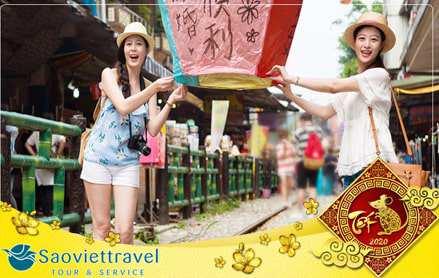 Du lịch Đài Loan Tết Âm lịch Canh Tý 2020 – Đài Bắc – Đài Trung – Cao Hùng giá tốt từ TP.HCM