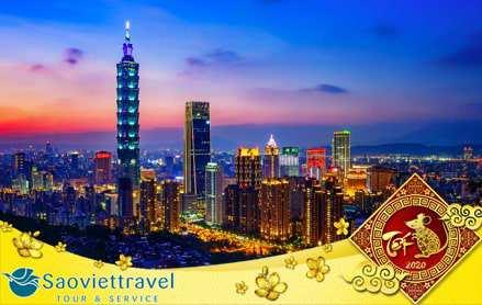 Du lịch Đài Loan Tết Nguyên đán 2020 – Đài Bắc – Đài Trung – Cao Hùng từ Sài Gòn giá tốt
