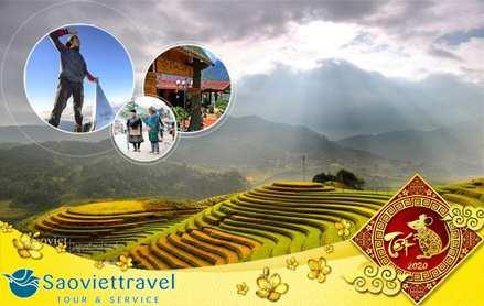 Du lịch Tết âm lịch 2020 – Tour Hà Nội –  Sapa 4 Ngày Khởi Hành Từ Sài Gòn