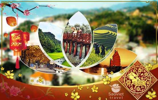 Du lịch Miền Bắc – Hà Nội – Sapa – Fanxipan 4 ngày Tết Âm lịch 2021 từ Sài Gòn giá tốt