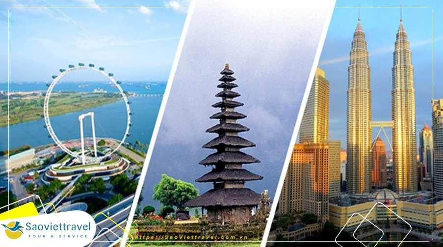 Du lịch Singapore – Indonesia – Malaysia 2020 khám phá Legoland giá tốt từ Sài Gòn