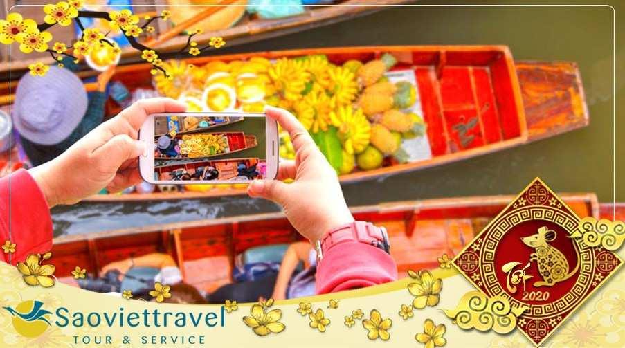 Tour du lịch Thái Lan Tết Nguyên đán 2020  Bangkok – Pattaya 5 ngày 4 đêm từ TP.HCM – KS 4 sao
