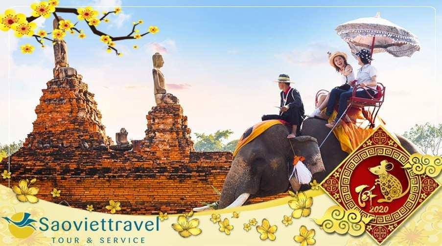Tour Thái Lan Tết 2020 Hà Nội – Bangkok – Pattaya – Đảo Coral giá tốt từ Hà Nội Bay FD