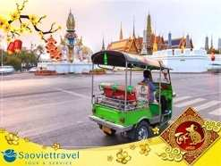 Tour du lịch Thái Lan Tết Nguyên đán 2021  Bangkok – Pattaya 5 ngày 4 đêm từ TP.HCM – KS 4 sao