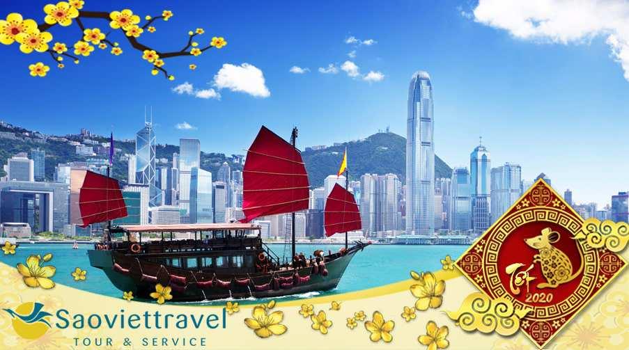 Du lịch Hồng Kông Tết Âm Lịch 2020 – Chu Hải – Quảng Châu – Thẩm Quyến 5N4Đ giá tốt từ Sài Gòn