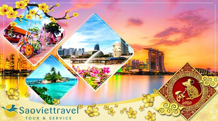 Du lịch Malaysia Singapore Tết 2021 giá tốt từ Sài Gòn – Đặc sắc nhạc nước