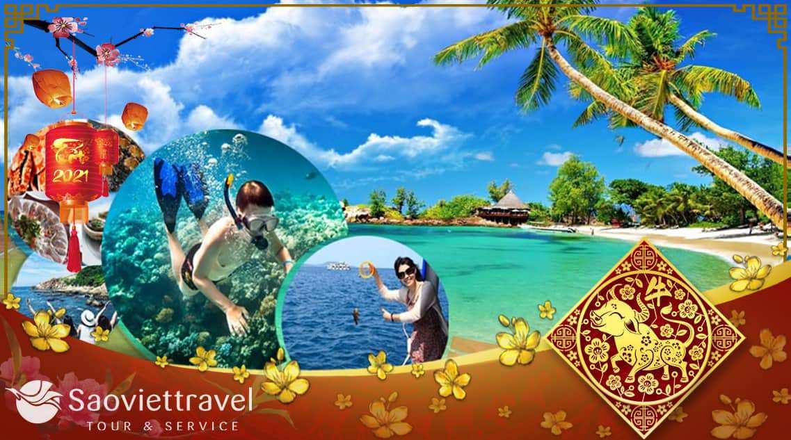 Du lịch Phú Quốc Tết âm lịch 2021 – Vinwonders – Safari 3 ngày khởi hành từ Sài Gòn