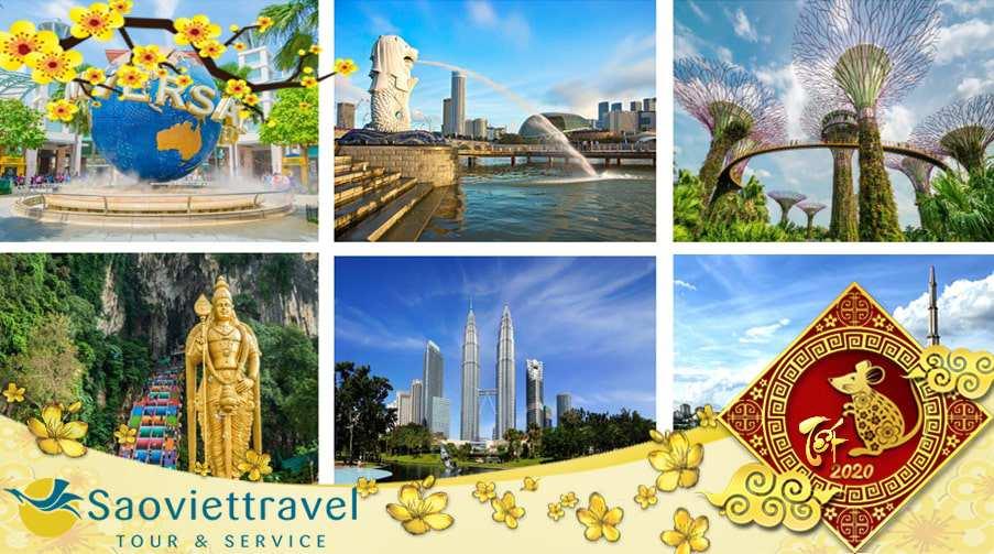 Du lịch Tết Nguyên đán 2021 Singapore – Malaysia 6 ngày 5 đêm từ Sài Gòn – TOUR CAO CẤP