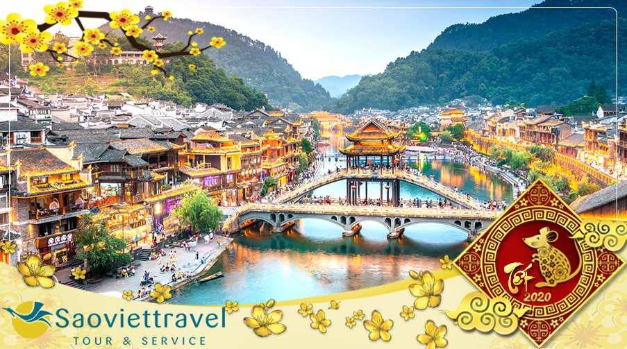 Du lịch Trung Quốc tết âm lịch 2021 – Trương Gia Giới – Thành cổ Phượng Hoàng 4N3Đ giá tốt từ Sài Gòn