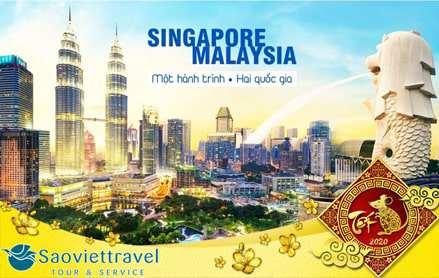 Du lịch Tết Nguyên đán 2020 Singapore – Malaysia 6 ngày 5 đêm từ Sài Gòn – TOUR CAO CẤP
