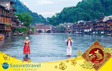 Du lịch Trung Quốc tết âm lịch 2020 – Trương Gia Giới – Thành cổ Phượng Hoàng 4N3Đ giá tốt từ Sài Gòn