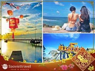 Du lịch Phú Quốc 3 ngày 2 đêm Tết âm lịch 2021 khởi hành từ Sài Gòn