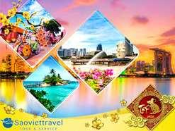 Du lịch Singapore – Malaysia – Indonesia Tết Canh Tý 2020 giá tốt từ Sài Gòn – Đặc sắc nhạc nước