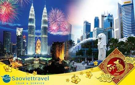 Tour du lịch Singapore Malaysia Indonesia tết 2020 từ Hà Nội 5 ngày 4 đêm giá tốt