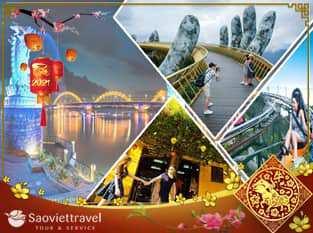 Tour du lịch Đà Nẵng tết Tân Sửu 2021 – Sơn Trà – Bà Nà – Hội An – Cù Lao Chàm 4 Ngày từ Sài Gòn