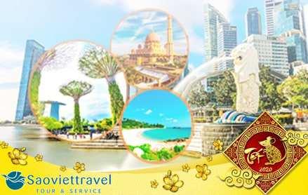Du lịch Singapore Malaysia Indonesia tết 2021 từ Sài Gòn 5 ngày 4 đêm giá tốt