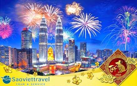 Tour du lịch Singapore Malaysia tết 2020 từ Hà Nội 4 ngày 3 đêm giá tốt