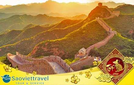 Du lịch Trung Quốc Tết 2020 – Bắc Kinh – Vạn Lý Trường Thành 4 ngày giá tốt từ Sài Gòn