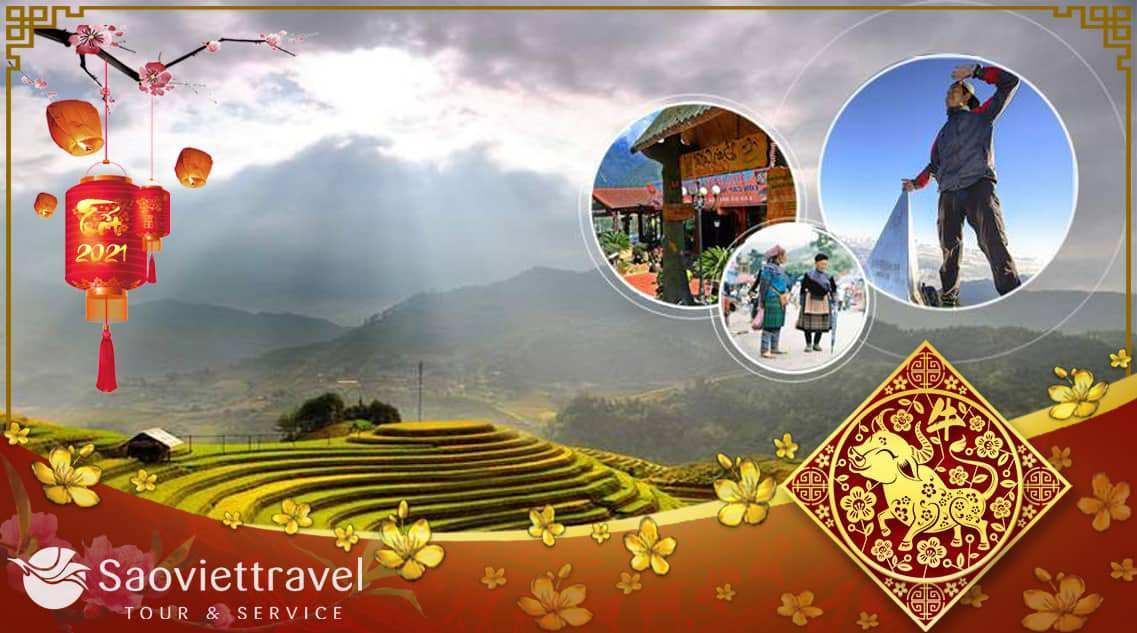 Du lịch Miền Bắc Tết Âm lịch 2021 – Hà Nội – Sapa – Fansipan 4 ngày giá tốt từ Sài Gòn