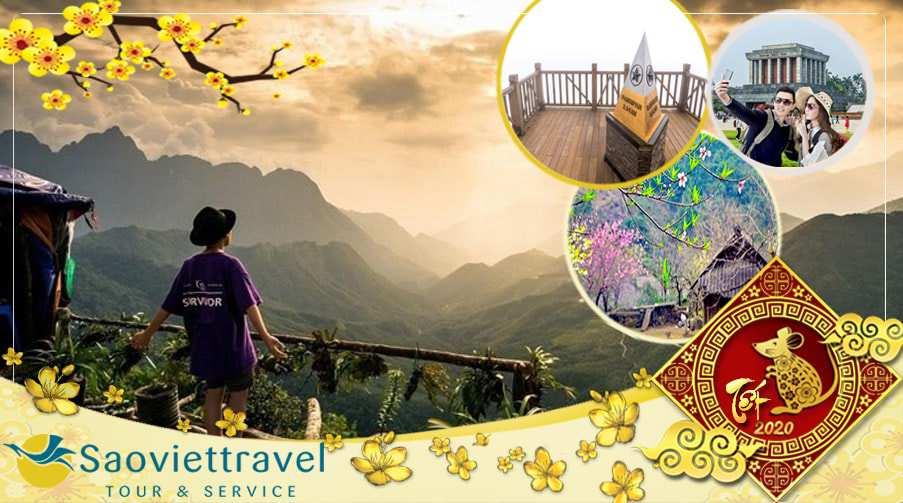 Du lịch Miền Bắc Tết Âm lịch 2020 – Hà Nội – Sapa – Fansipan 4 ngày giá tốt từ Sài Gòn