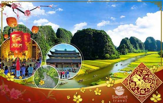 Du lịch Miền Bắc Tết Âm lịch 2021 – Hà Nội – Sapa – Fansipan – Ninh Bình 4 ngày  từ Sài Gòn