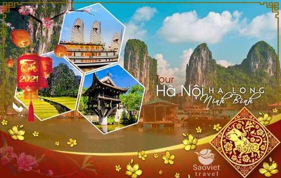 Du lịch Miền Bắc Tết Tân Sửu 2021 – Hà Nội – Hạ Long – Sapa – Ninh Bình 5 ngày từ Sài Gòn