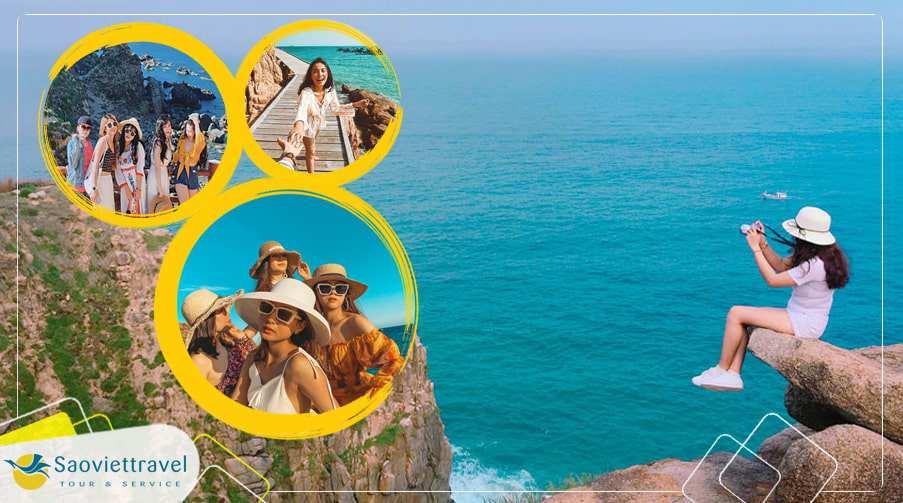 Tour Du lịch Quy Nhơn – Phú Yên Đảo Kỳ Co – Eo Gió 1 ngày giá tốt