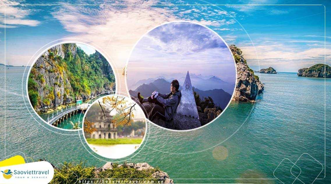 Du lịch Miền Bắc  –  Hà Nội – Hạ Long – Sapa – Ninh Bình 6 ngày giá tốt từ Cần Thơ