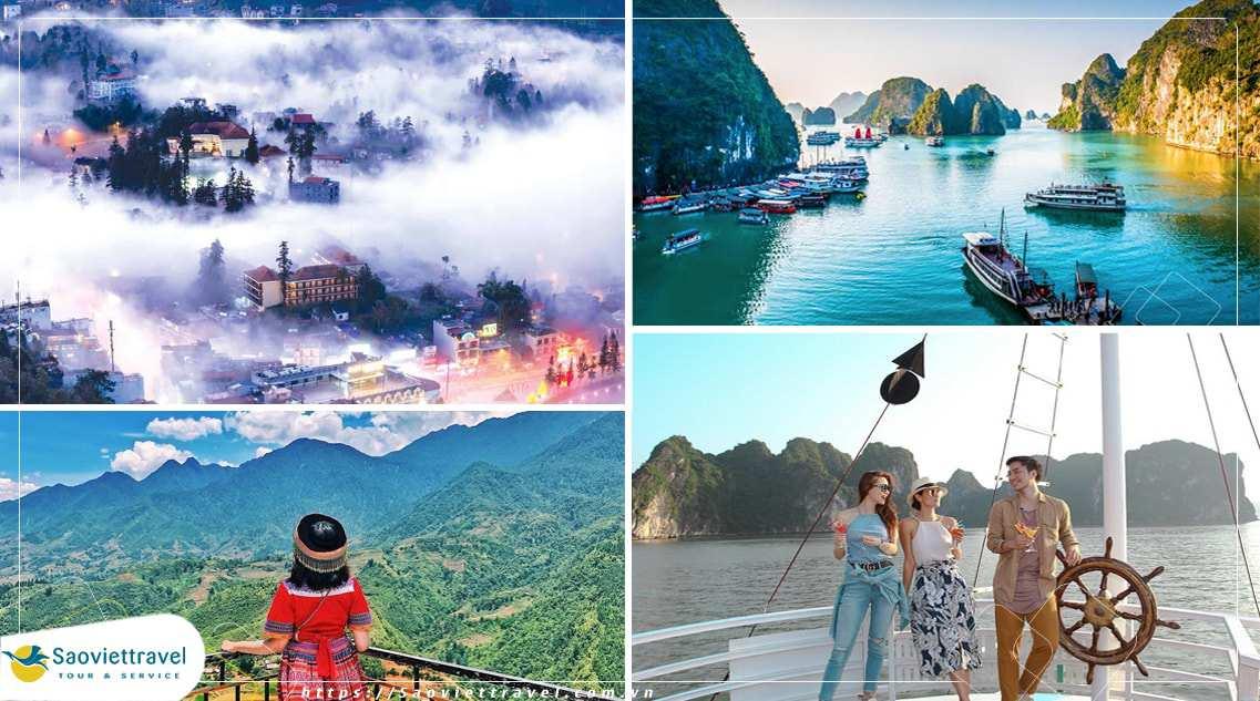 Du lịch Miền Bắc – Sapa – Hạ Long 3 ngày 3 đêm giá tốt 2021