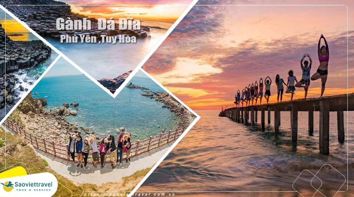 Du lịch Quy Nhơn – Phú Yên 4 ngày 3 đêm Eo Gió – Kỳ Co- Tuy Hòa – Ghềnh Đá Đĩa – giá tốt 2020
