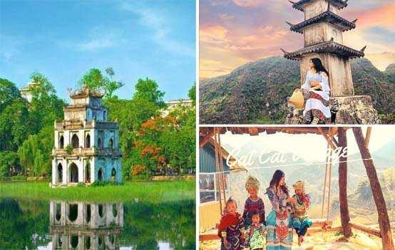 Du lịch Miền Bắc – Hà Nội – Sapa – Ninh Bình 4 ngày giá tốt từ Cần Thơ